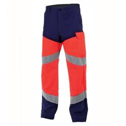 Pantalon Poche Genoux Fluo...